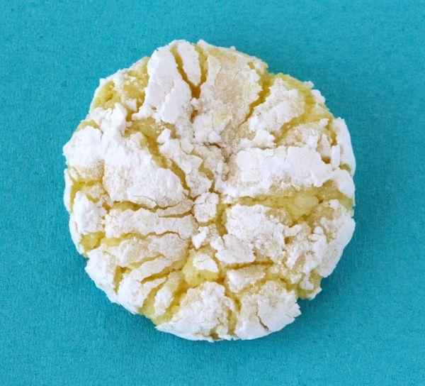 Easy Lemon Cake Mix Cookies Recipe