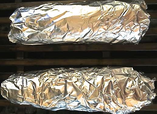 Grilled Corn Wraped in Tin Foil
