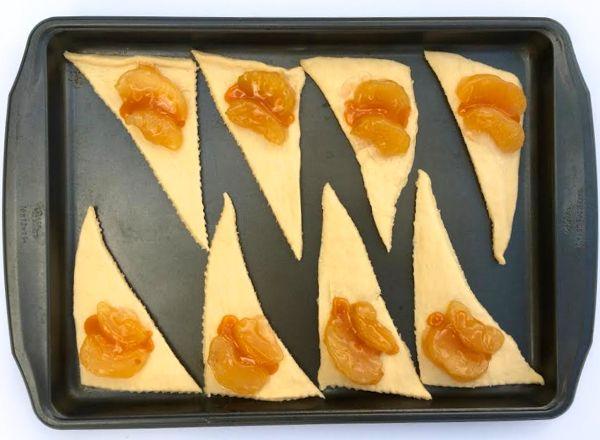 Apple Caramel Crescents