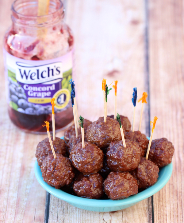 Grape Jelly Meatballs Recipe