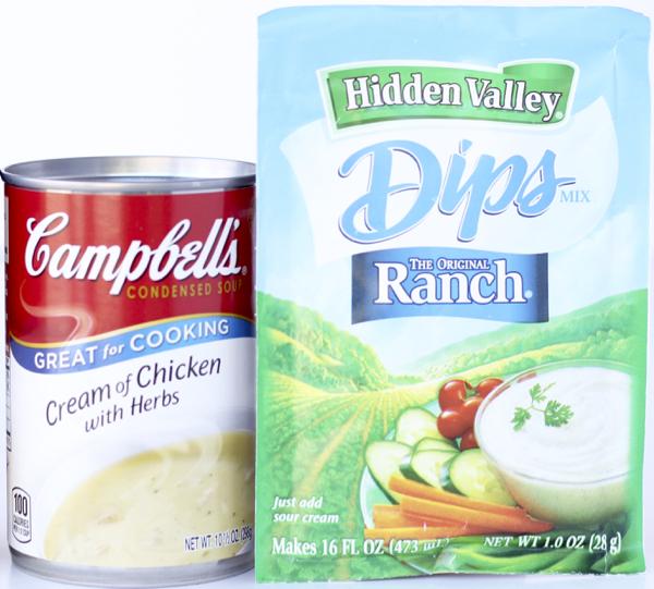 Hidden Valley Ranch Packet Pork Chops