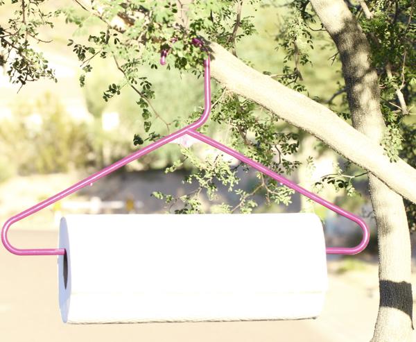 Easy DIY Paper Towel Holder Hanger