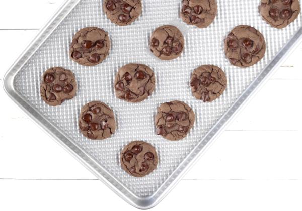 Ultimate Triple Chocolate Cookies