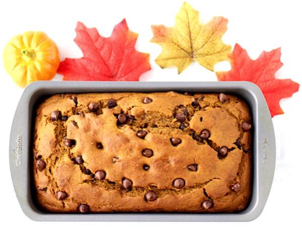 Cake Mix Chocolate Chip Pumpkin Bread