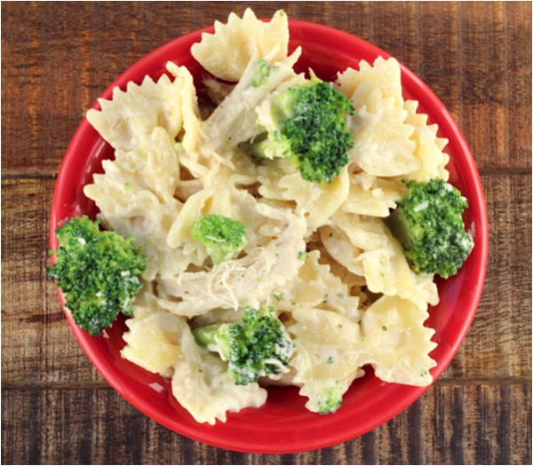 Crockpot Chicken Broccoli Alfredo Recipe