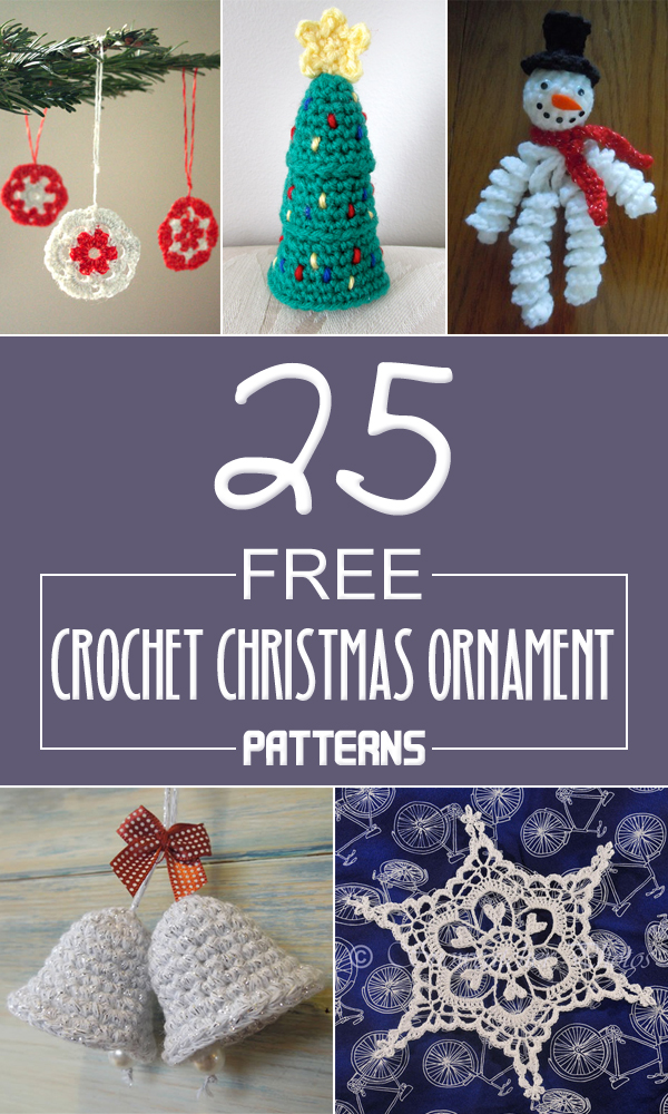 Free Christmas Ornaments Patterns