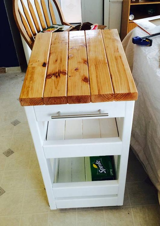 how to build a kitchen island with seating free standing shelves 21 things you can 2x4s