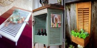 15 New Creative Uses for Old Shutters