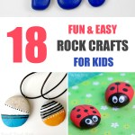 18 Fun Easy Rock Crafts For Kids