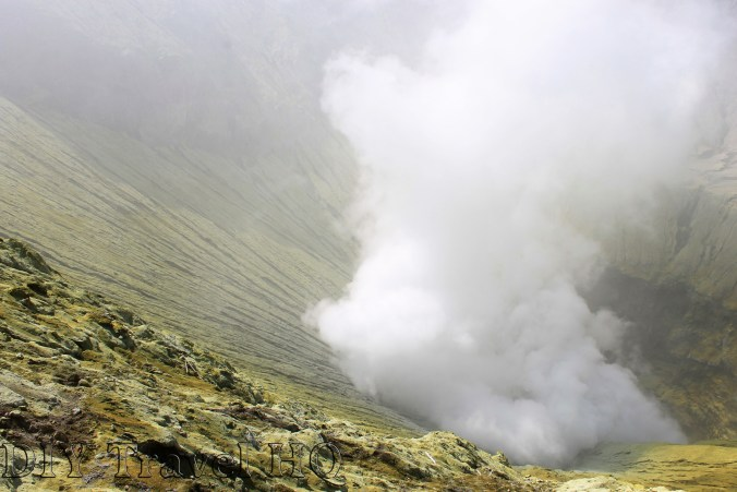 Extreme activity from Mount Bromo