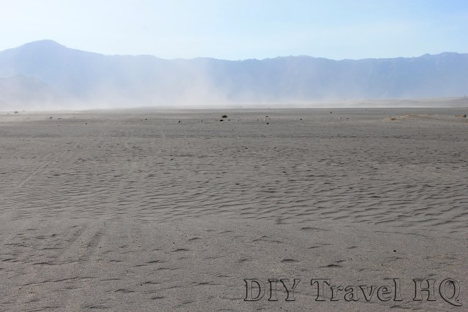Volcanic Sea of Sand