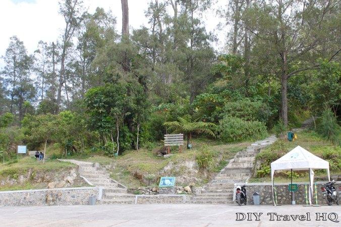 Mt Kelimutu Parking Lot