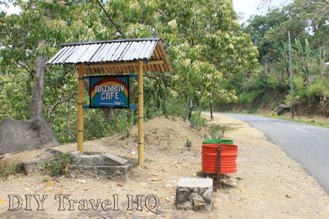 Mt Kelimutu Trail Start Rainbow Cafe