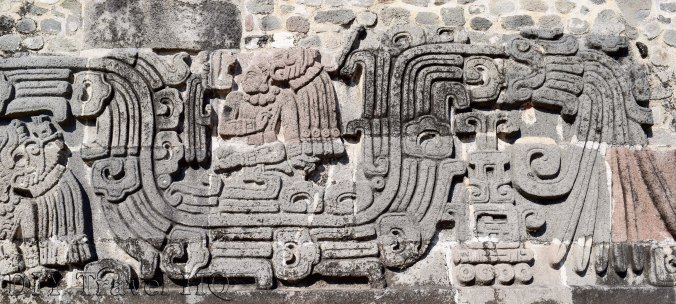 Bas-Relief of Pyramid of Feather Serpent