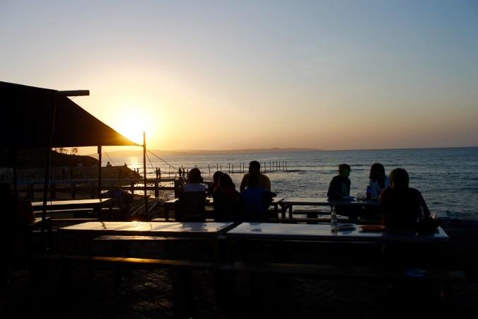 Sunset at Kupang Beach