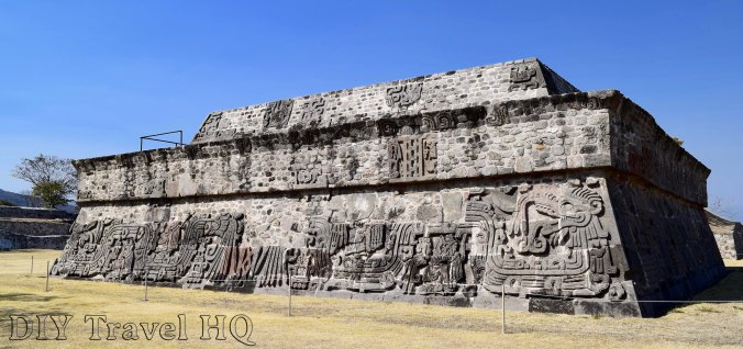 Xochicalco Pyramid of the Feather Serpent