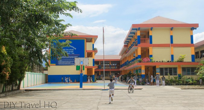 Colourful new school Banda Aceh