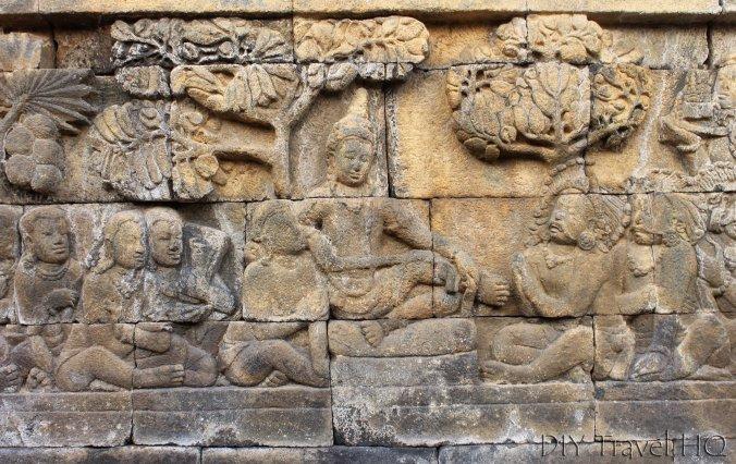Buddhist Imagery on Borobudur