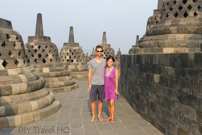 DIY Travel HQ at Borobudur