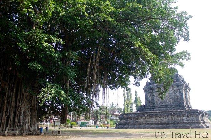 Candi Mendut near Borobudur