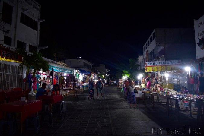 Puerto Escondido El Adoquin Night Market