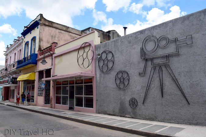 Hollywood Street in Camaguey