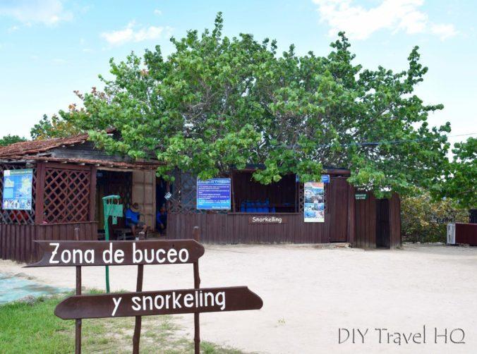 Playa Coral Flora and Fauna Reserve Entrance