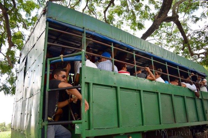 Camion from Pinar del Rio to Robaina
