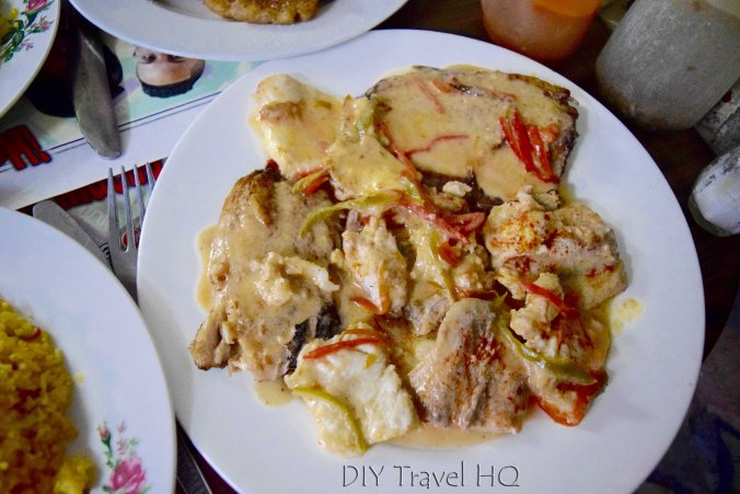 Fish with coconut sauce Baracoa