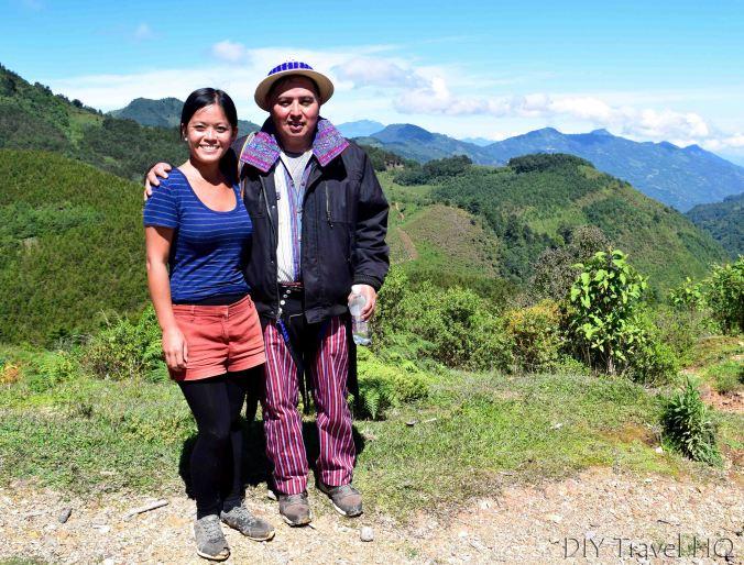 Hike to San Juan Atitan Viewpoint with Sheena and Jose