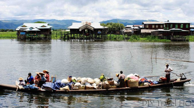 Local transport on Inle Lake
