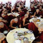 Burmese Buddhism & Lunchtime at Bago Monastery