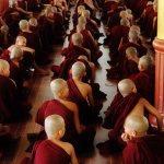 Study Session at Kha Khat Wain Kyaung Monastery