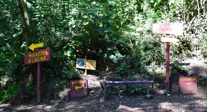 Laguna Chicabal Hiking Loop Start