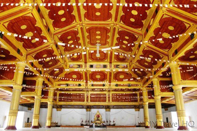 Hall room at Atumashi Kyaung