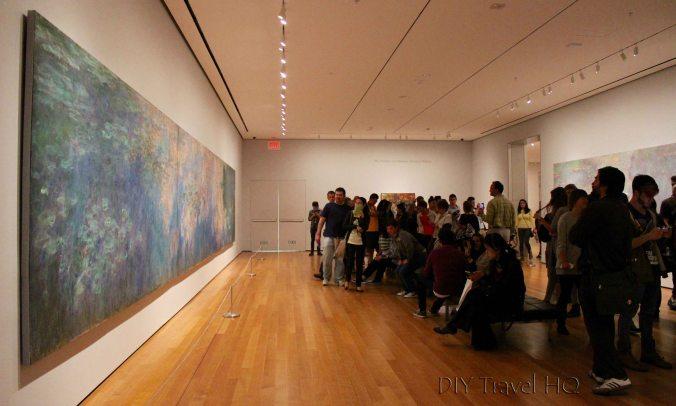 Monet Water Lillies at MOMA
