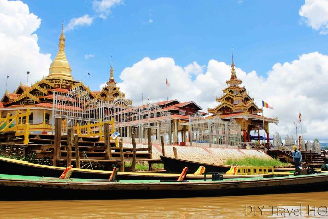 Phaung Daw Oo Pagoda on Inle Lake
