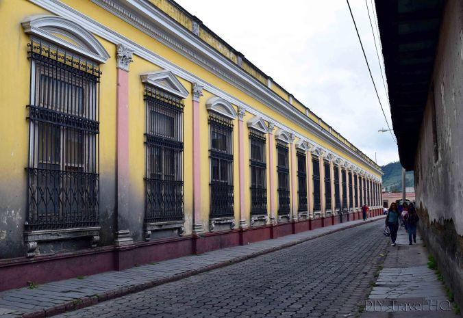 Quetzaltenango (Xela) Historic Center Street