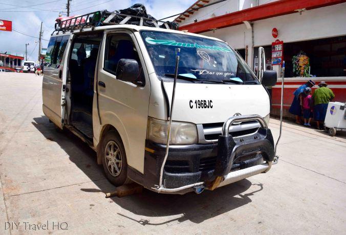 Todos Santos Cuchumatan Microbus
