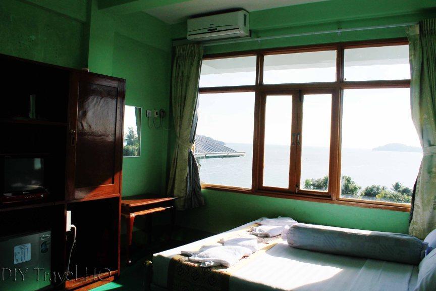 Hotel room in Kawthaung
