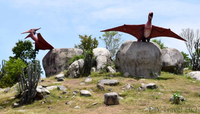 Pterodactyls Dinosaur Park Santiago