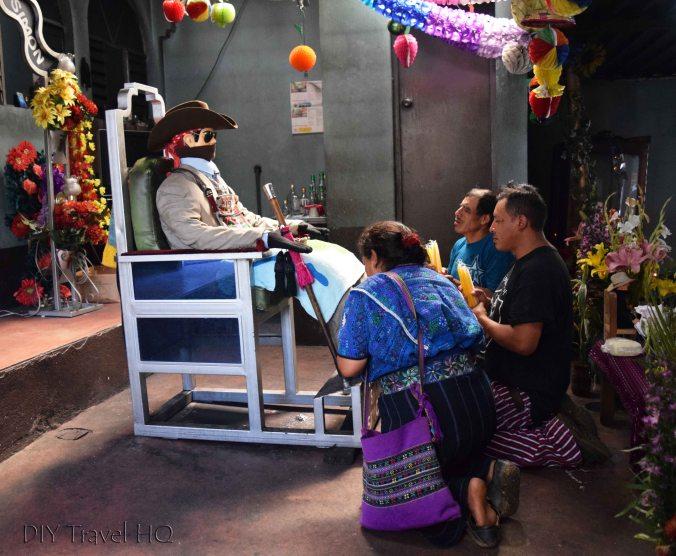 Zunil San Simon (Maximon) Worship