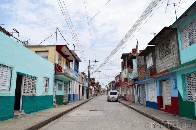 Colourful streets of Bayamo