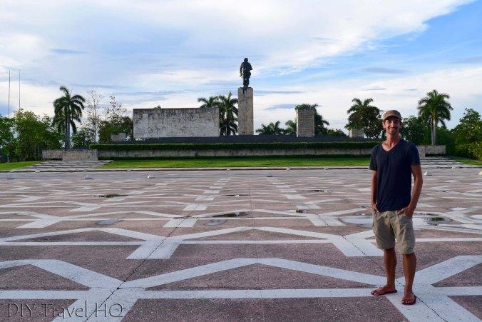 Erik at Che Memorial