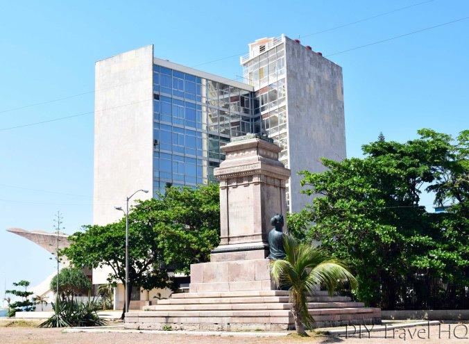 Havana Vedado Avenue de los Presidentes Tomas Estrada Palma Statue