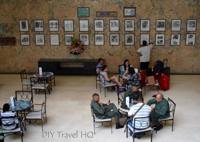Havana Vedado Hotel Habana Libre Military Pictures and Personnel