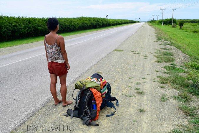 Hitchhiking to Santa Lucia