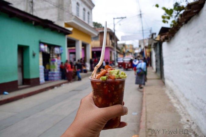 Momostenango Market Ceviche