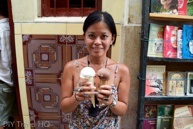 Old Havana Calle Obispo Peso Ice Cream