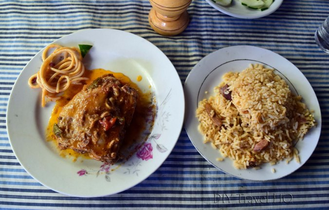 Playa Santa Lucia Restaurante los Cocos Cuban Meal